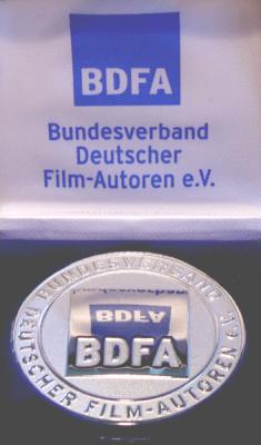 Die Silbermedaille des BDFA