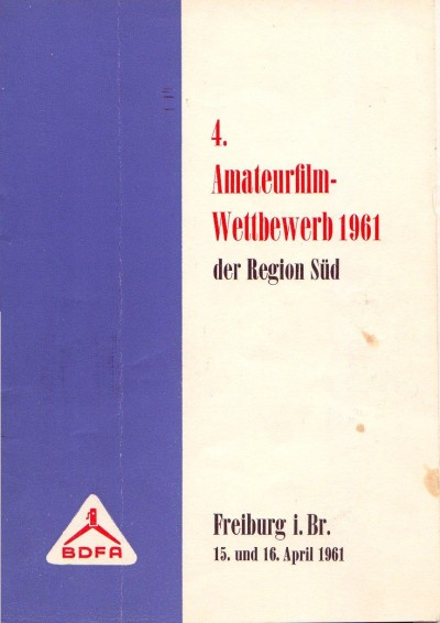Amateurfilm Wettbewerb 1961